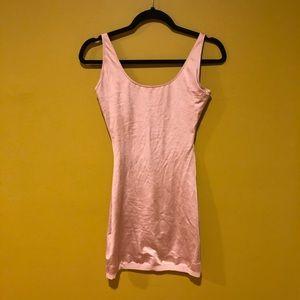 Nude Spanx Slip Dress